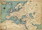 Map of Europe of Anubia by Erebus74