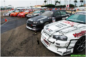 D1GP Group Shot by motion-attack