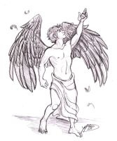 Action Pose 5: Fallen Angel by naomi-makes-art73