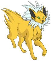 ...pogheys... Jolteon by Rainbow-Cemetery