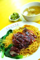 Roast duck Noodle by Bigpanther