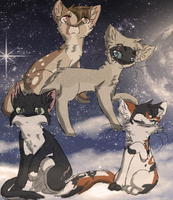 TBT :: Windclan High Ranks by xHalfaLife101x