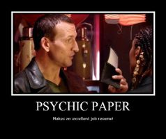 Psychic Paper 2 by Okitakehyate