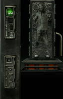 taylor swift carbonite render by willartmaster