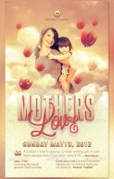 Mothers Love Flyer and CD Template by loswl