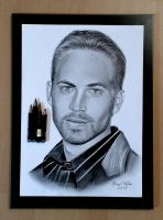 Paul Walker by Viktros