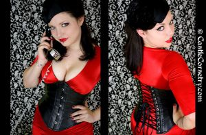 Blind Mag Corset by CastleCorsetry