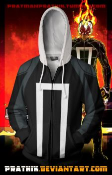 All New Ghost Rider Hoodie! by prathik