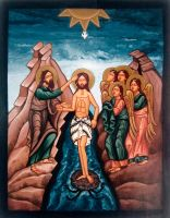 The Baptism of Christ by GalleryZograf