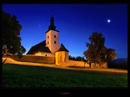 - Fortified church - by UNexperienced
