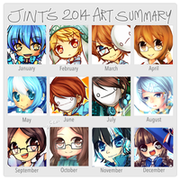 Summary of art 2014 by Jintii