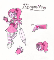 Steven Universe OC: Morganite BIO by MajesticReaper