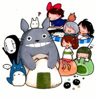 Studio Ghibli! by pwnapple14