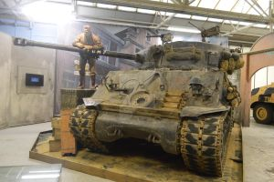 The Tank Museum Sherman Fury by Drago-Husky