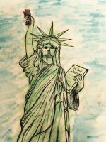 Je Suis Charlie: Lady Liberty French 4 Project by soulsilver12