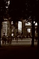 Brandenberg Gate by Glamour-and-Abuse