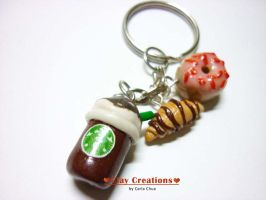 Favorite Breakfast Charms by phoenixcarla