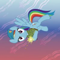 Rainbow Dash in the VDV by GennadyKalugina