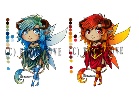 Fairy Adoptables 1 by Roots-Love