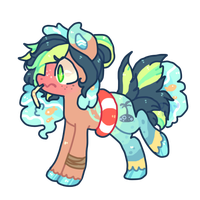 Summer time pony DTA by puqqie