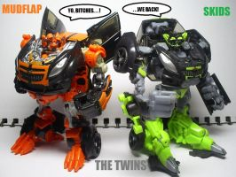 DOTM: The Twins by Lugnut1995