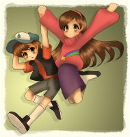 Mystery Twins by Jetti-G