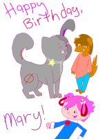 Happy Birthday Mary by FoamyStar