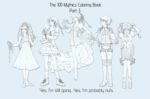 100 Mythicals 3 by Shinou