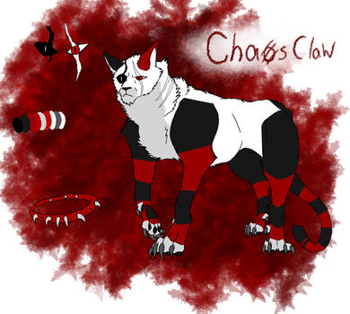 Chaosclaws ref sheet by CorrosiveChaoticWolf