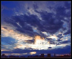 Vegas Sunset Pan by navandale