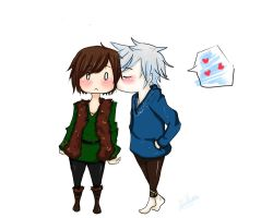 Jack x Hiccup by DianaVazk3z