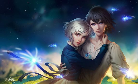 Howl and Sophie by Zolaida