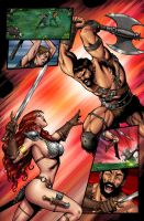 red sonja 38 by wgpencil
