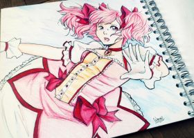 Madoka by Wernope