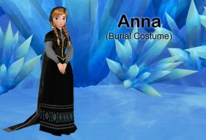 MMD Anna (Burial Costume) DL below by animefancy-mmd