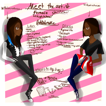 Meet the artist by Addisionella