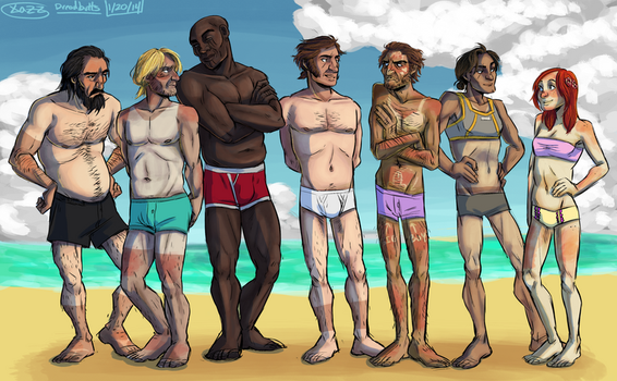 collab: neked Pirates by Ericanii