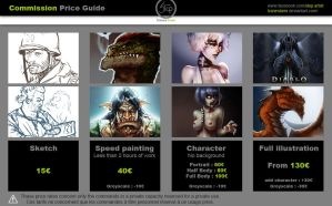 Commission Price Guide by tranenlarm