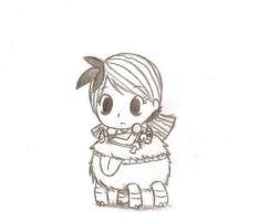 Don't Starve: Wendy And Chester by Goomy-goo