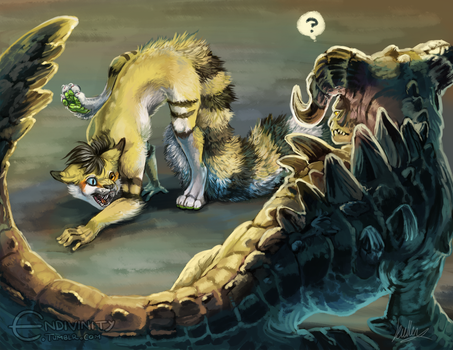 Fright Fluff by Endivinity