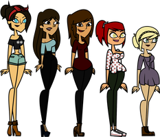 Main OC's: Girls by TheCuteLittleBow