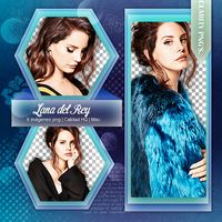 Lana del rey pack png by iWillNotSurrender