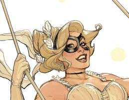 Bombshells 2 Cover Detail by TerryDodson