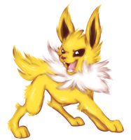 Jolteon by BritishStarr