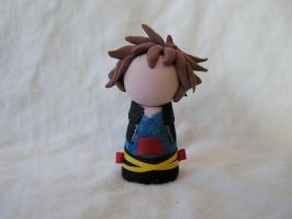 Chibi Sora Chess Piece by Searapheena