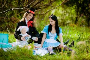 Alice in Wonderland by Anna-Malina