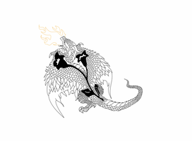 Dragon Tattoo - Round Two by Dragonmistral