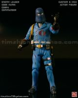 Cobra Commander Custom Figure by timshinn73
