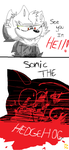 Art Trade - poor sonic by yoyotinpiney