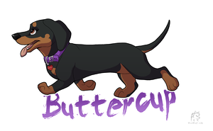 Buttercup Badge by WindWo1f